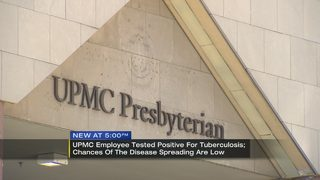 UPMC notifying patients after employee tests positive for tuberculosis