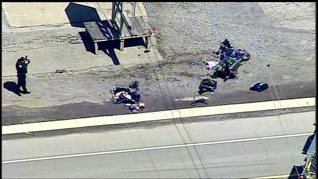 At least 1 injured in motorcycle crash on Route 422 | WPXI