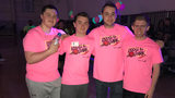 PHOTOS: Glow in the dark dodgeball at RMU raises money for LLS