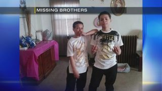 Police searching for missing brothers