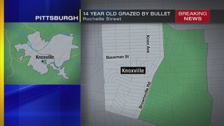Teen shot in ear while sleeping in Pittsburgh neighborhood