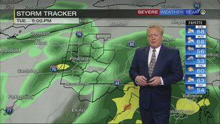 Rain, cooler temperatures to return early in week