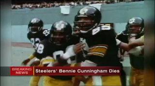 Steelers great Cunningham dies at 63