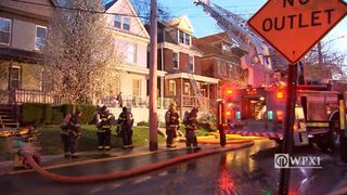 RAW VIDEO: House fire in Edgewood