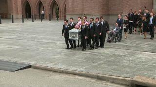 VIDEO: Barbara Bush funeral moments