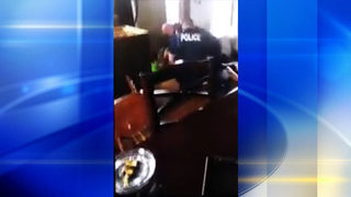 Police officer put on leave after video showing use of force goes viral
