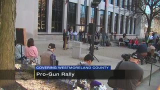 Second amendment supporters hold rally in Westmoreland County