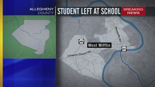 West Mifflin kindergartner left behind in classroom at end of day