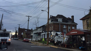Police: Incident ends with vehicle crashing into pole