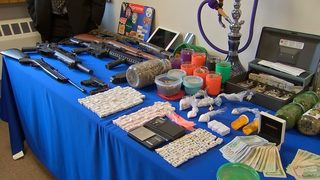 Burglar alarm inadvertently leads authorities to drug bust