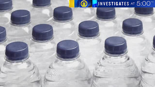 TONIGHT AT 5: Your bottled water may contain hundreds of little pieces of plastic