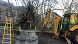 Stephen Foster statue removed