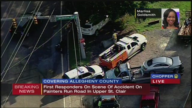 UPPER ST CLAIR CRASH: At least one person injured in Upper