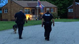Police search for home invasion suspects in Shaler. (Photo by Aaron Martin/WPXI)