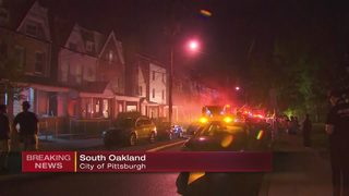 3-alarm fire reported at South Oakland building