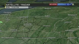 Areas of patchy fog possible overnight