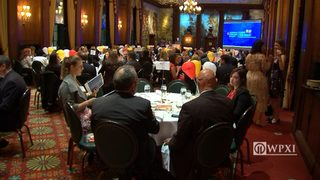 RAW VIDEO: Light the Night breakfast for Leukemia and Lymphoma Society