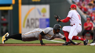 Pirates rally in extra innings on Harrison triple, win 5-4