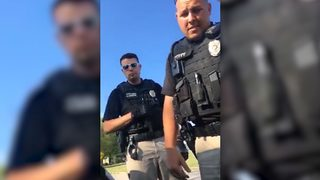RAW VIDEO: Black driver pulled over for
