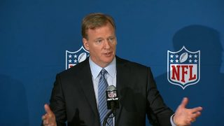 VIDEO: NFL says players must stand for anthem