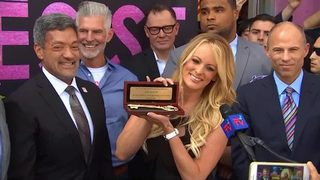 VIDEO: West Hollywood celebrates Stormy Daniels Day
