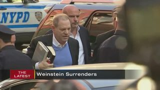 Weinstein arrested and charged