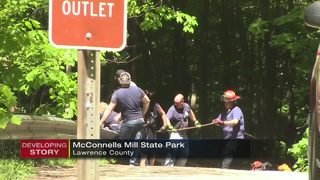 Woman falls 100-plus feet at local state park; flown to hospital