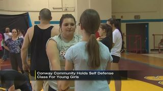 Girls taught self-defense after attempted luring
