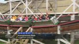 3 people complete 50 consecutive rides on Kennywood's Thunderbolt