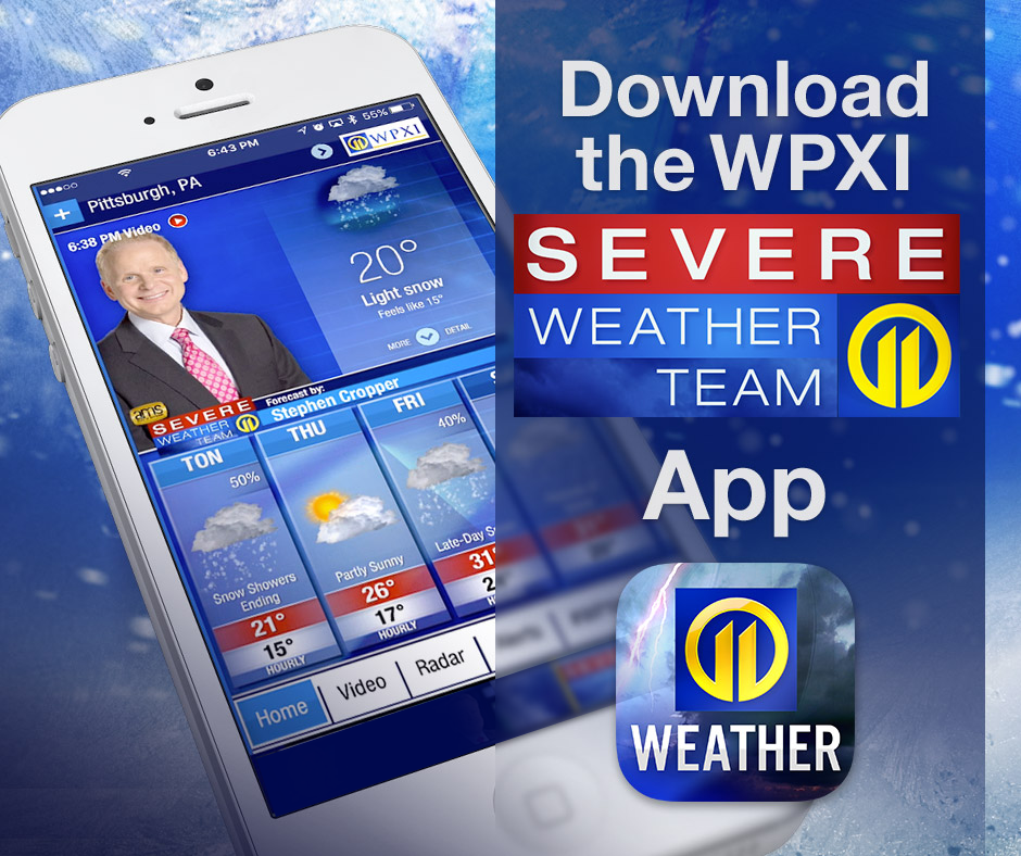 Pittsburgh Radar - Interactive Weather Map | WPXI