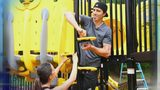 Marc-Andre Fleury funds playground at local Boys and Girls Club