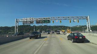 Inbound Liberty Bridge closure happening this weekend
