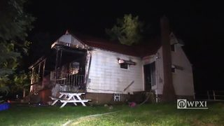 RAW VIDEO: Family escapes burning Lawrence County home