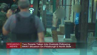 SWAT responds to home in Pittsburgh neighborhood