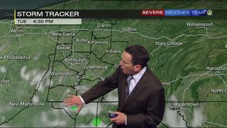 Storm tracker for Tuesday