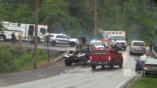 RAW VIDEO: Both drivers killed in Butler County accident