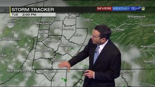 Scattered showers, thunderstorms Tuesday (6/19/18)