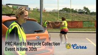 11 Cares: Hard to Recycle Event on June 30 (fees apply)