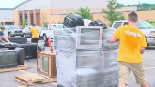 11 Cares collects hundreds of hard-to-recycle items