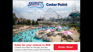Enter to Win Two Day Any Day Cedar Point Ticket Giveaway!