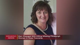 Man charged with killing missing Pittsburgh woman in Ross