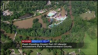 Flooding closes some Idlewild attractions