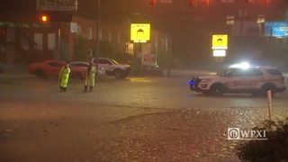 RAW VIDEO: Banksville Road flooding