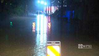 RAW VIDEO: Ligonier Township flooding