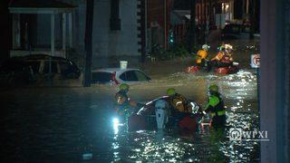 RAW VIDEO: Water rescues in Bridgeville