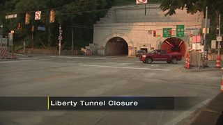 Liberty Tunnel, bridge closures coming this weekend