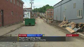 Red Cross opening relief center for residents impacted by flooding