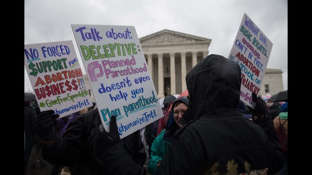 Supreme Court Rules Against California Law Targeting Anti Abortion