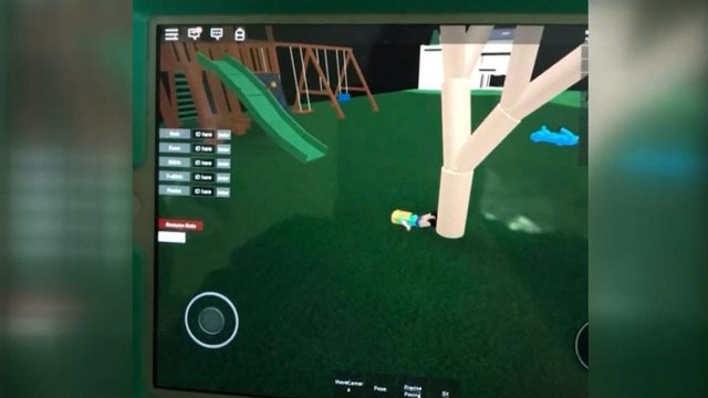 Online Kids Game Roblox Shows Female Character Being - how to reactivate roblox account after ban
