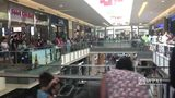 RAW VIDEO: Build-A-Bear lines in Robinson